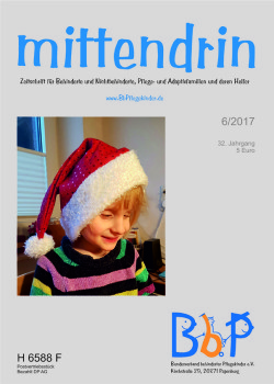"""Titelblatt 6/2017 der Zeitschrift """"mittendrin"""""""
