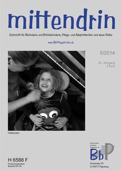 """Titelblatt 5/2014 der Zeitschrift """"mittendrin"""""""