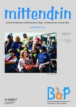 """Titelblatt 3/2017 der Zeitschrift """"mittendrin"""""""