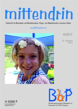 """Titelblatt 4/2017 der Zeitschrift """"mittendrin"""""""
