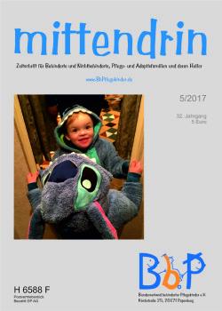 """Titelblatt 5/2017 der Zeitschrift """"mittendrin"""""""