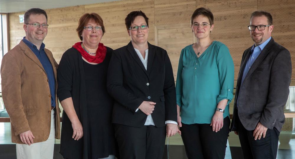 Gruppenfoto des BbP-Vorstandes