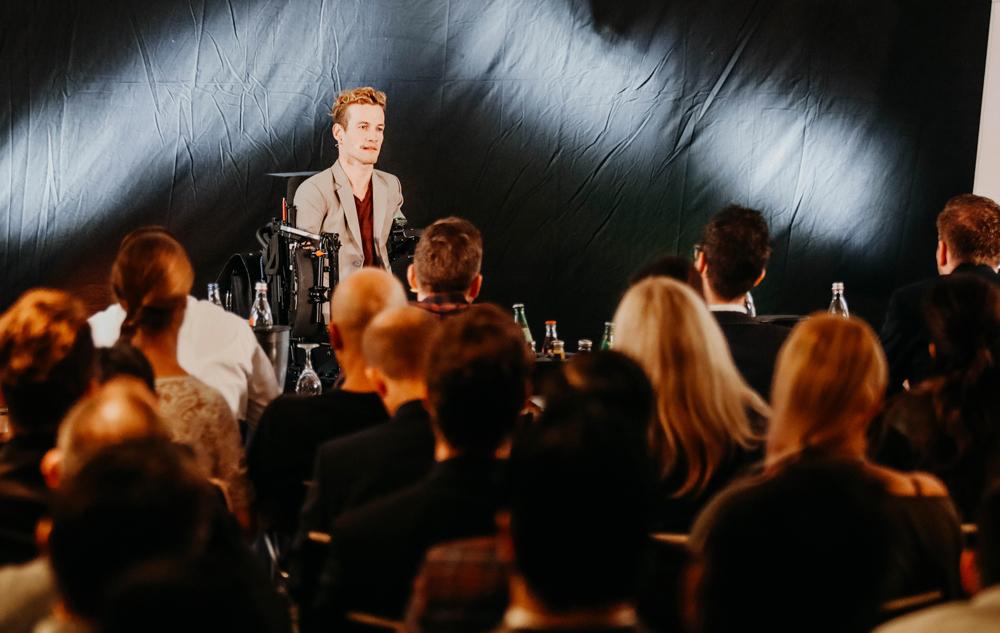 Janis McDavid beim Speaker Slam