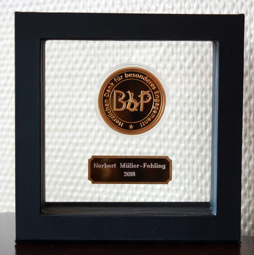 BbP-Verdienstmedaille für Norbert Müller-Fehling