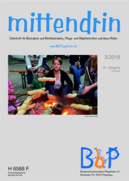 """Titelblatt 3/2019 der Zeitschrift """"mittendrin"""""""