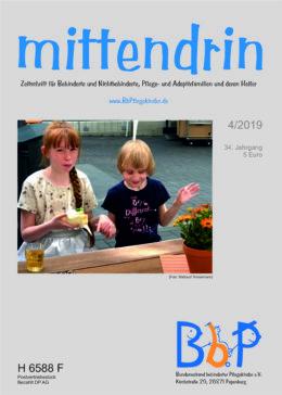 """Titelblatt 4/2019 der Zeitschrift """"mittendrin"""""""