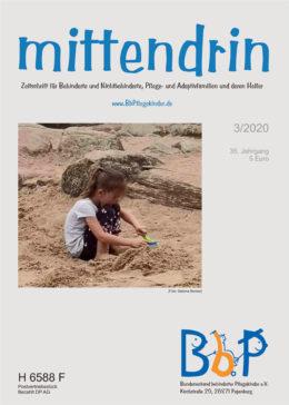 """Titelblatt 3/2020 der Zeitschrift """"mittendrin"""""""