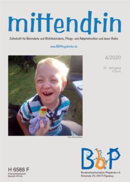 """Titelblatt 4/2020 der Zeitschrift """"mittendrin"""""""