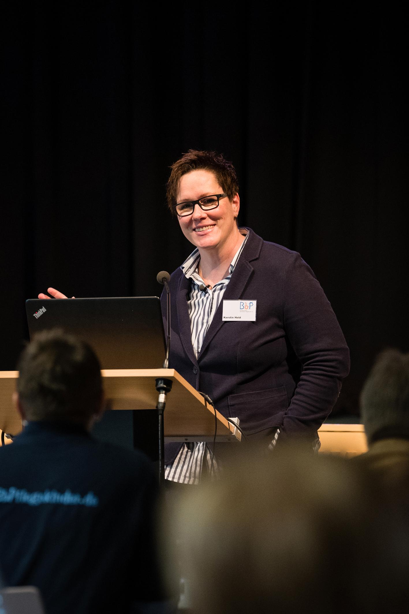 Kerstin Held, Vorsitzende des Bundesverbandes behinderter Pflegekinder e.V.