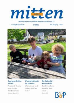 """Titelblatt 3/2021 der Zeitschrift """"mittendrin"""""""